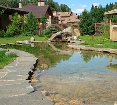 Создание искусственного озера. Компания Укрсад.